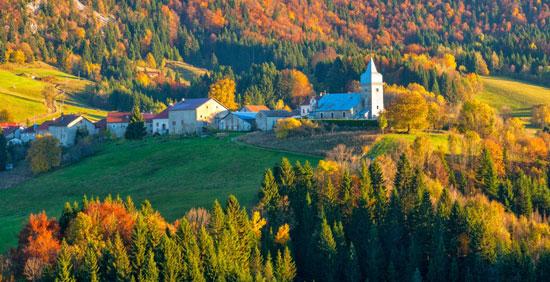Le Parc Naturel du Haut-Jura